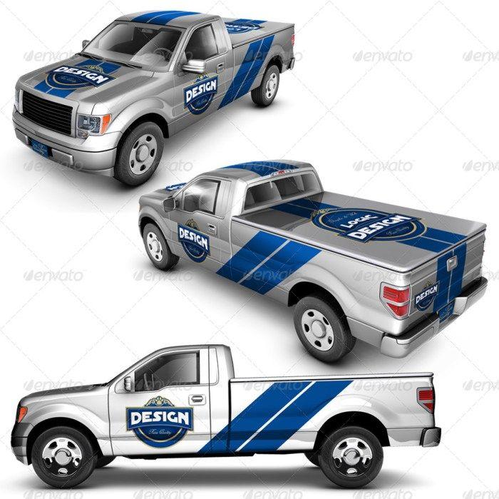 50 Truck Mockup Psd For Trucks Branding Free Premium Downloads Pickup Trucks Trucks Mockup
