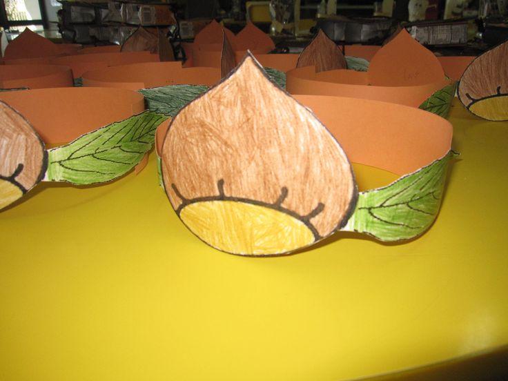 coroa de castanha
