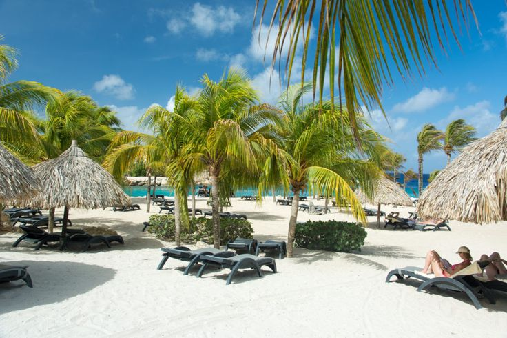 Lions Dive Beach at Hemingway, Curaçao
