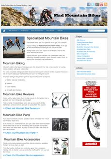 Client Page: Specialized Mountain Bikes