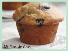 Deliciosos pastelitos sin azúcar ni grasa, ¡muy saludables!