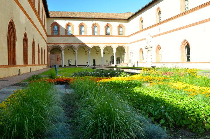 #Uno fei  cortili interni del Castello!