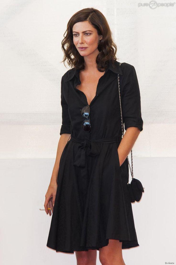 Anna Mouglalis lors du photocall du film La Jalousie pendant la Mostra de Venise le 5 septembre 2013
