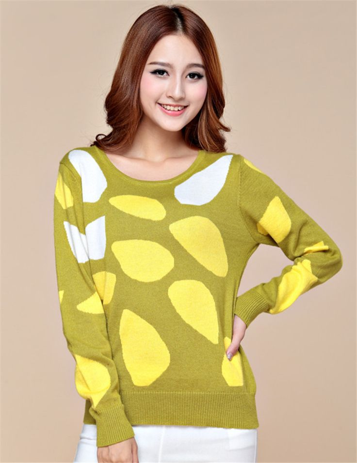 Sweater-Women-yellow