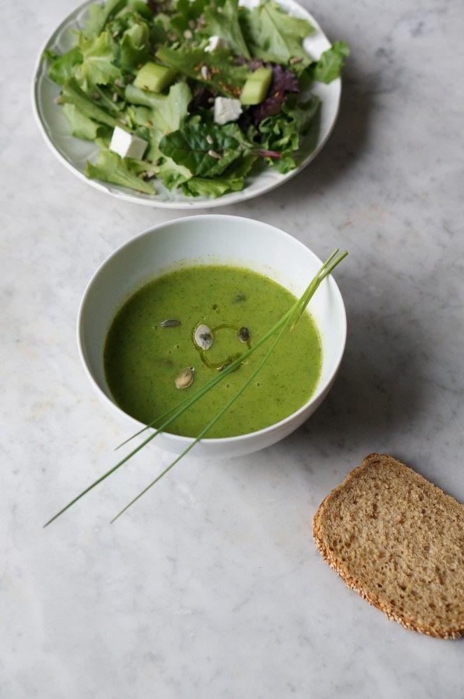 Super-aliment : Moringa Recettes de velouté de courgette au Moringa à découvrir http://lovely-lovely-trends.com/moringa-recette-courgette/