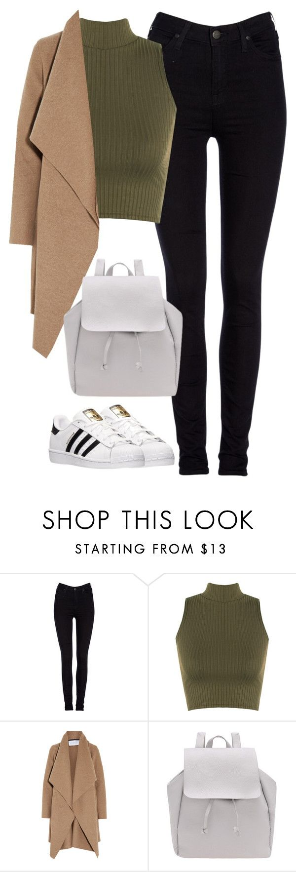 """Untitled #462"" by christyandnef on Polyvore featuring Lee, WearAll, Harris Wharf London, adidas, women's clothing, women, female, woman, misses and juniors"