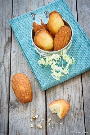 madeleines miel-citron-amande sans gluten
