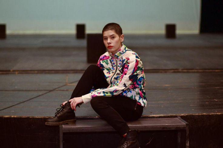 Crina Semciuc, actress Puma Etno Star Jacket by Lana Dumitru  #lana #dumitru #lanadumitru #digitalprint