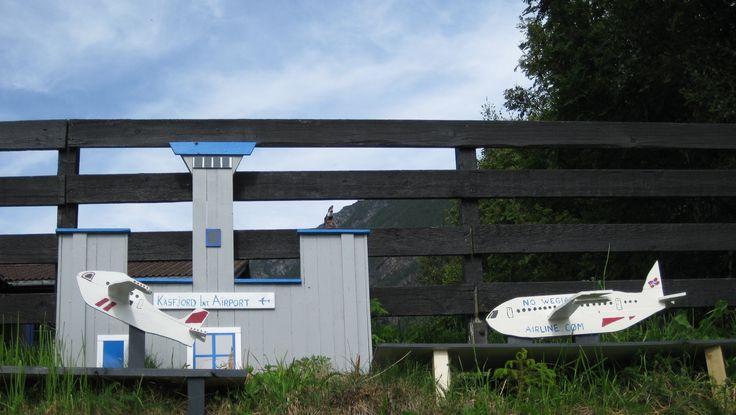 International airport in Kasfjord City Minibyen.
