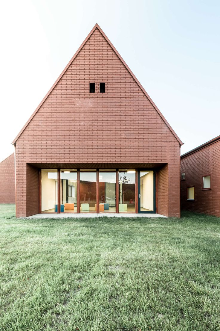 During the design phase we strived to preserve the scales of the village. We chose the archetypical form of rural houses. Small independent pavilions were th...