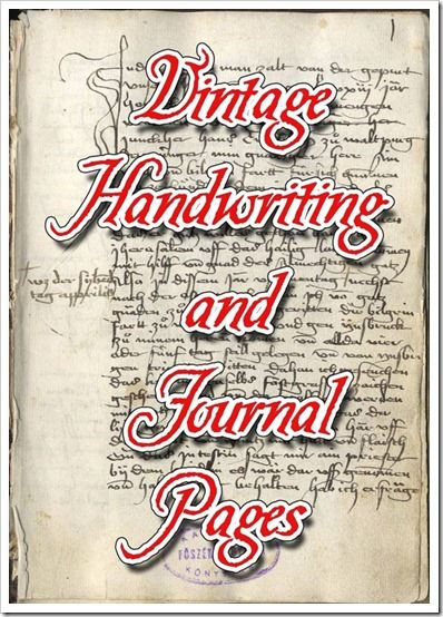 Links to various handwriting pages