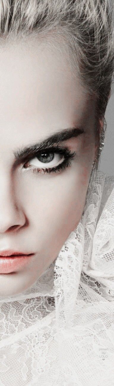 Striking Portraits of Women Cara Delevingne