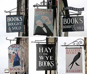 Hay-on-Wye: an amazing town of bookstores. Every book lover needs to take the trek to this idyllic town on the Welsh side of the Welsh/English Border in the County of POWYS, Wales.