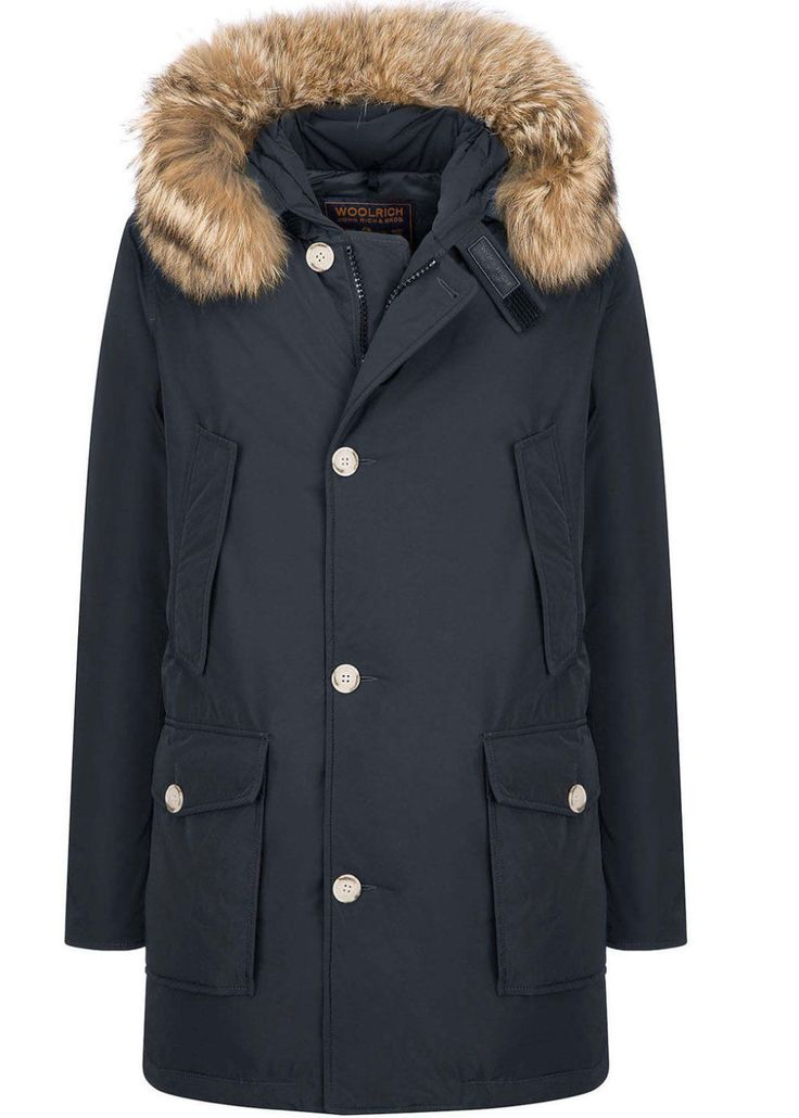 The hooded parka is having a moment this winter