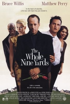 The Whole Nine Yards (2000) - Movie Poster - 27 X 40 -NEW - Bruce Willis, Mathew Perry, Rosanna Arquette, Amanda Peet,     Harland Williams, Kevin Pollak, Michael Clarke Duncan