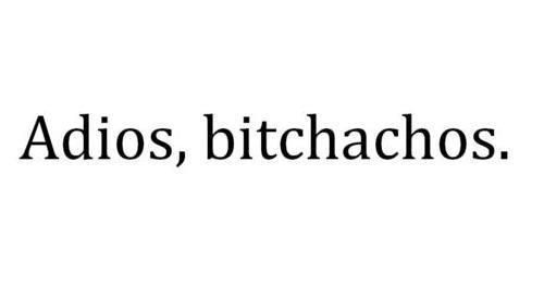 my new goodbye phrase