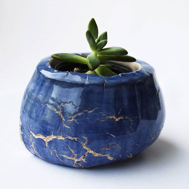 Cachepô para suculentas  #ceramics #ceramiche #ceramica #clay #succulents #suculentas #pottery #vasos #vase #jardinagem #cachepot #paisagismo #glaze