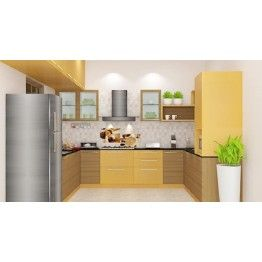 Buy Ogeechee U   Shaped Kitchen With Laminate Finish Online In Bangalore.  Shop Now For Modern U0026 Contemporary Kitchen Designs Online. Part 63