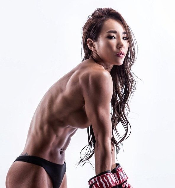 Asian female fitness #10