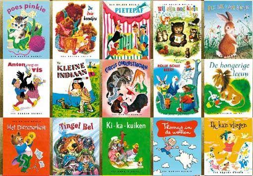 De Gouden boekjes, daar begon mijn liefde voor lezen mee.