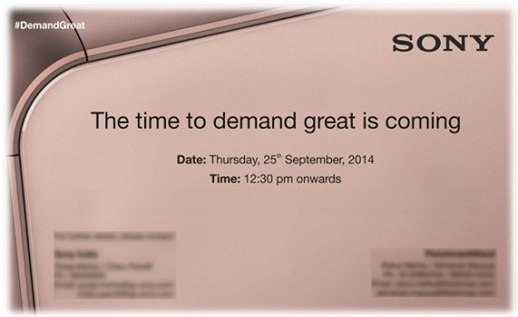 Sony announced its Xperia range of smartphones and tablets including the flagship Xperia Z3 at IFA earlier this month. Now Sony India is holding a press event in New Delhi on September 25, where it is expected to launch Xperia Z3 family of devices.