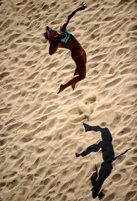 ✯ Larissa Franca at FIVB Beach Volleyball World Championships in Rome ✯