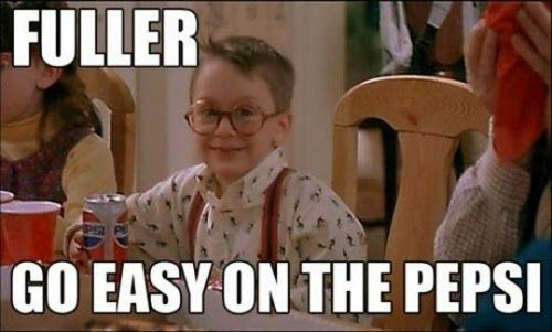 Home Alone - Fuller. The rubber sheets are already packed