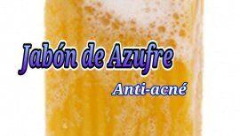 Hacer Jabón de Azufre anti-acné (con VIDEO)