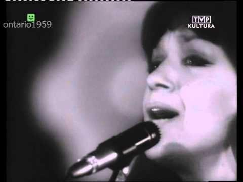 Ewa Demarczyk - Na moście w Avignon (TVP Sopot 1970)