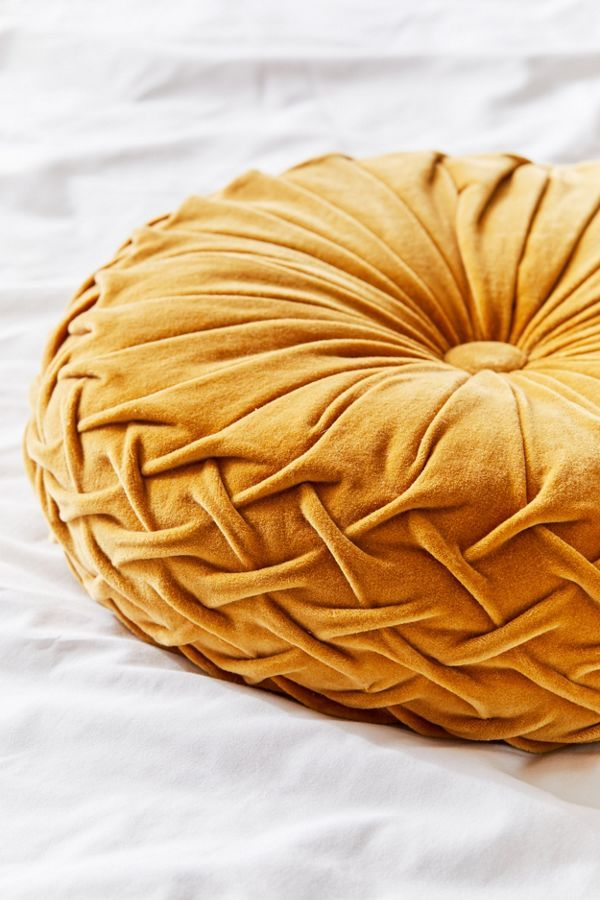 Round Pintuck Pillow In 2020