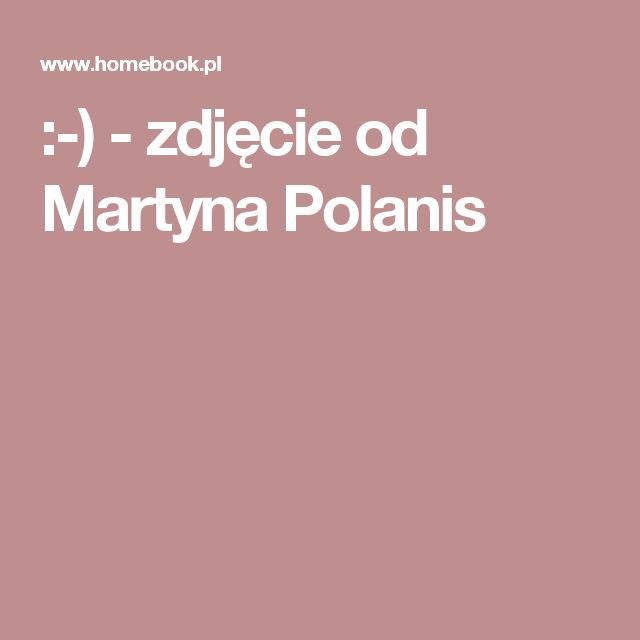 :-) - zdjęcie od Martyna Polanis