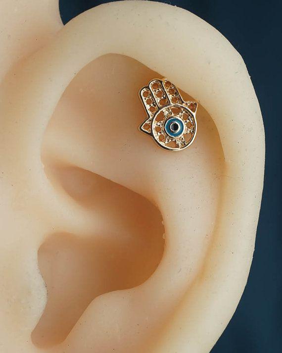 Knorpel-Ohrring Knorpel piercing Helix Ohrring von JennyAndWind
