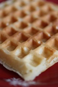 I made these in my belgian waffle maker...they were DELICIOUS! Made me never want to use store-bought mix again.
