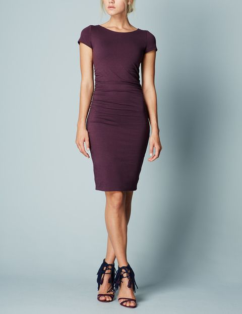 Ruched detail dress wh864 clothing at boden fashion for Boden mode uk