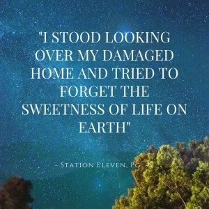 Review of Station Eleven by Emily St. John Mandel - By the Cover Review