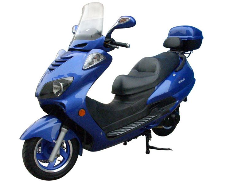 Extreme-Scooters - Buy Roketa MC-68A-250 Touring Deluxe - 250cc Scooter Honda-Style Engine, Liquid Cool, Touring Scooter - From Our Online Scooter Store