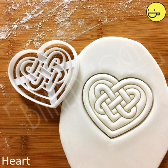3D Printed Viking Odin Triple Horn Cookie Cutter