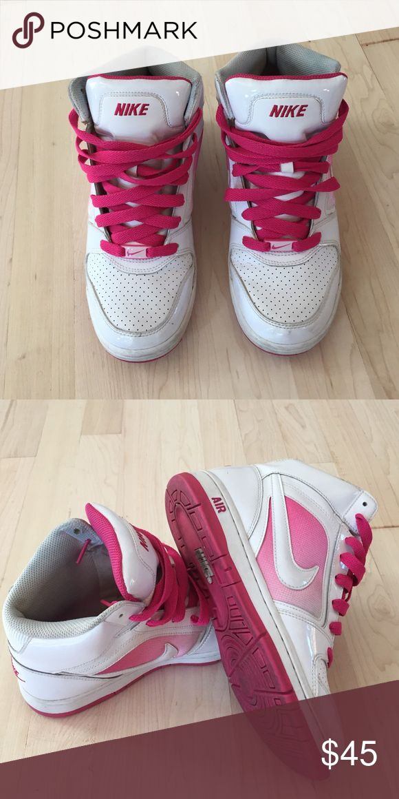 Good condition NIKE AIR PINK Nike Air pink really good shape! Size 7 nike  Shoes Sneakers
