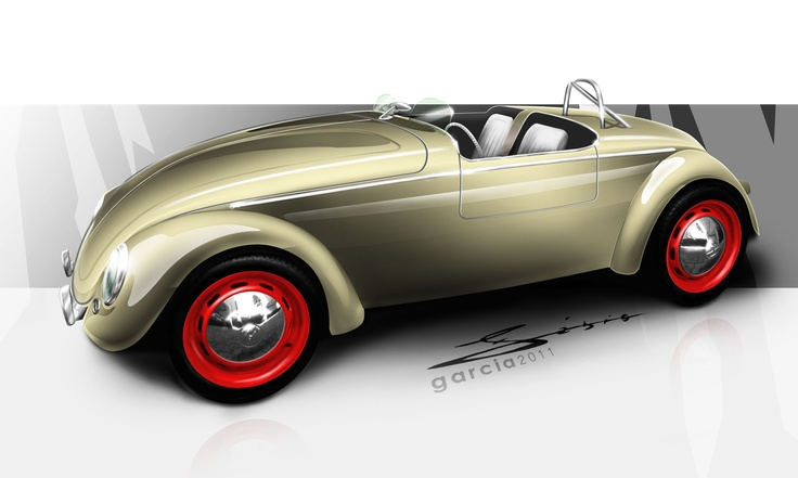 On The ROAD DESIGN - Fábio Garcia: Old Beetle Roadster