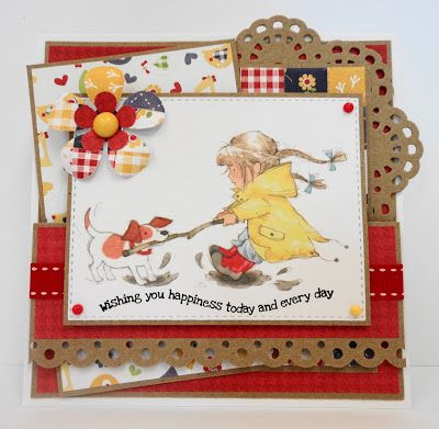 LOTV - Annabel Art Pad with Sunny Side Up paper pad by Amanda Stokes