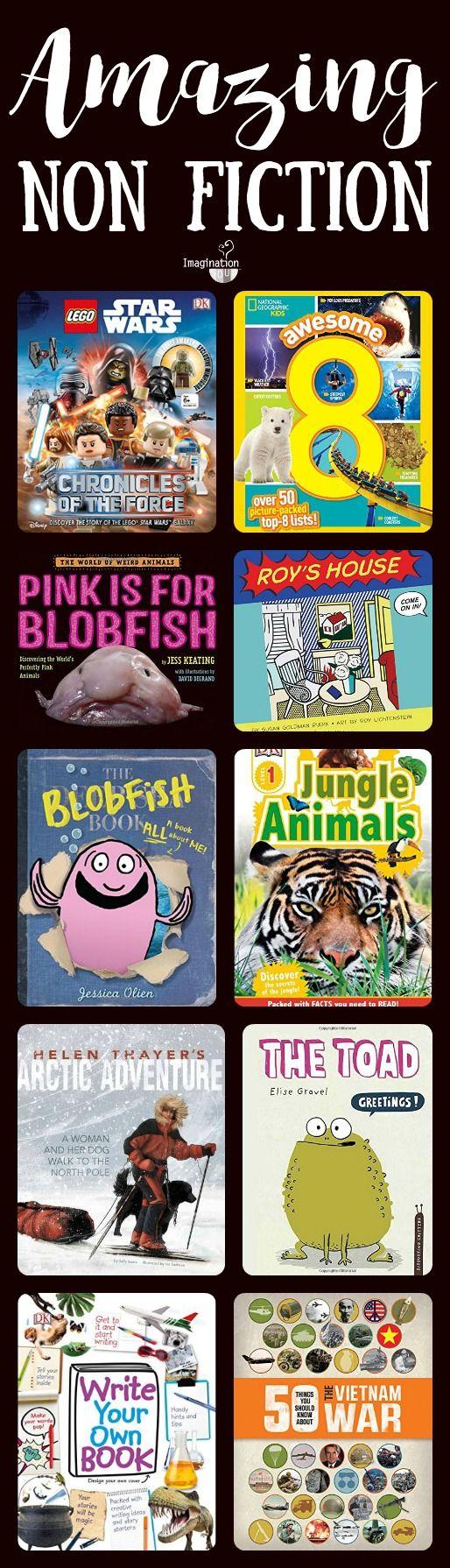 Popular Childrens Non Fiction Books