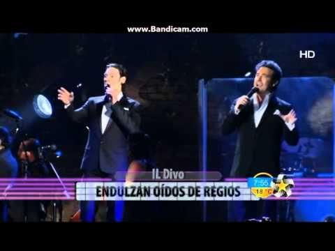 ▶ IL DIVO Report Monterrey 30-4-2014 - YouTube