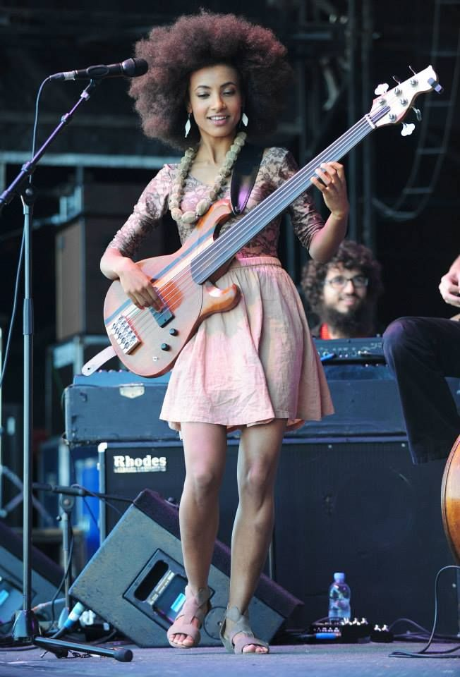 Esperanza Spalding,MUSIV,HAIR,TALENT,BEAUTY. This is most of us, now lets put BUSINESS first with all of our natural GIFTS GOD gave us.