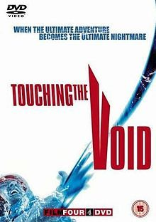 Touching the Void.  It's funny as I associate this doc with getting into Reece Shearsmith as it was a couple of weeks before I first saw Catterick in 2007.