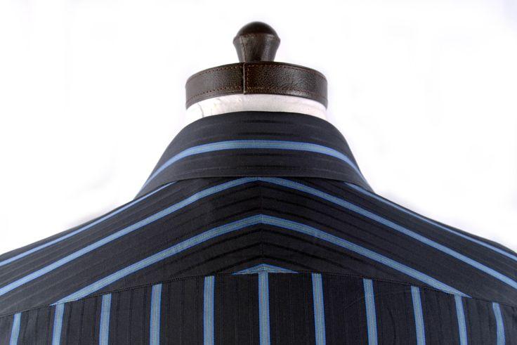 Split Yoke - Bespoke Shirts by Luxire. Custom made to Perfection