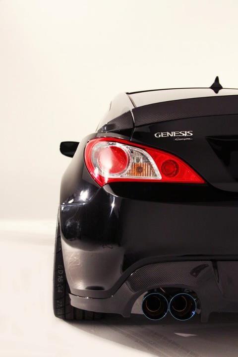 Rhys Millen Rm500 Hyundai Genesis Coupe 5 Litre Vrs