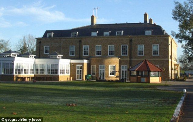 Fundraiser: Ray was 'ranting and raving' outside the four-star Orsett Hall hotel in Thurro...