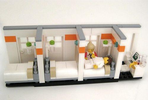 Lego Hospital Rooms | Flickr - Photo Sharing!