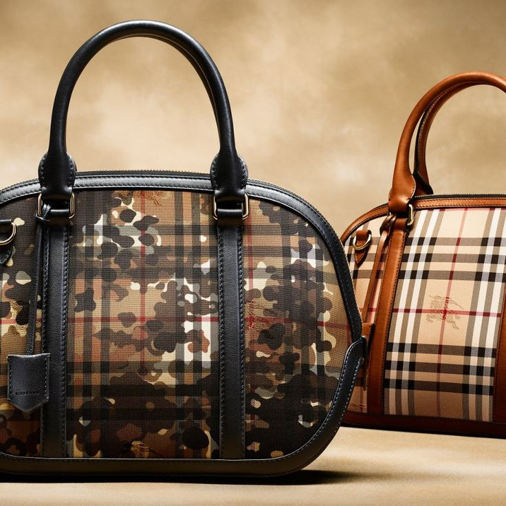 Iconic Check Bags