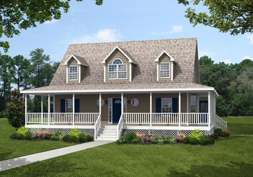 A Cape Cod Style Home The Harlow Welcomes You With A